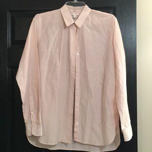 Gap cotton/silk blouse size med Euc